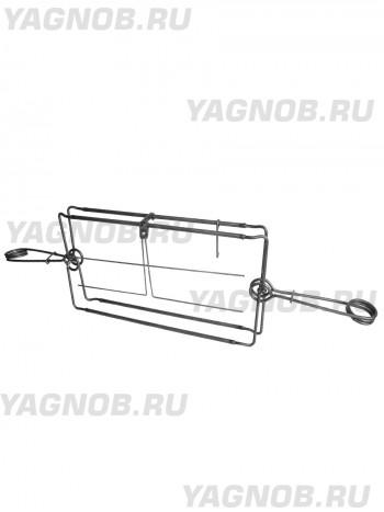 Капкан проходной КП-250X600, гуманный, разрешен для промысла в РФ (на бобра, рысь волка, барсука)