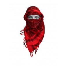 Арафатка, красно-черная,110х110 см, арт.500800