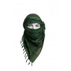 Арафатка, зелено-черная,110х110 см, арт.500800