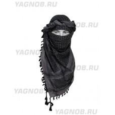 Арафатка,серо-черная,110х110 см, арт.500800