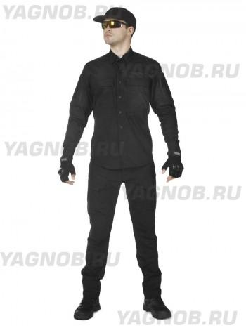 Костюм тактический мужской, летний, Gongtex Commando, 100% хлопок , цвет черный