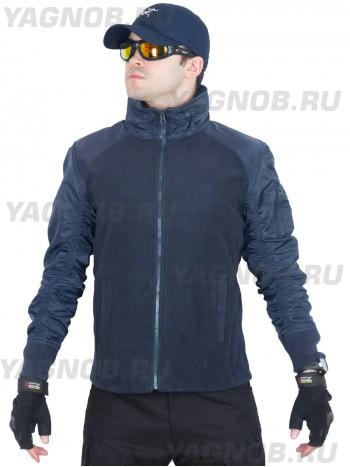 Куртка мужская флисовая GONGTEX Russian Flight Jacket, цвет Темно-синий, Нави (Navi)