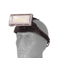 Мощный налобный  светодиодный аккумуляторный фонарь W608