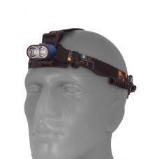 Мощный  налобный светодиодный аккумуляторный фонарь K28