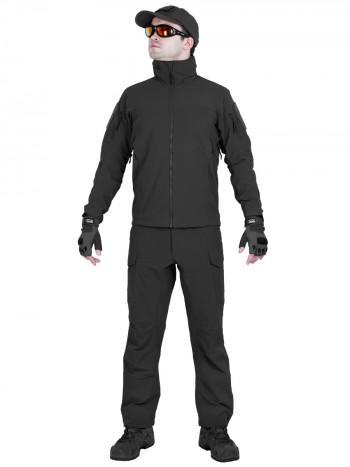 Костюм тактический мужской, демисезонный, Gongtex Ranger, цвет Черный (Black)