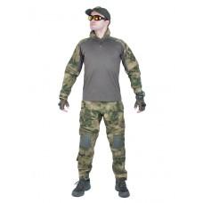 Костюм камуфляжный тактический летний G3 с защитой локтей и коленей, Tactica 762, цвет Атакс, Мох (A-TACS)