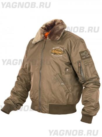 Куртка Пилот мужская (бомбер), осень-зима, 762 Armyfans G060A, цвет Хаки (Khaki)