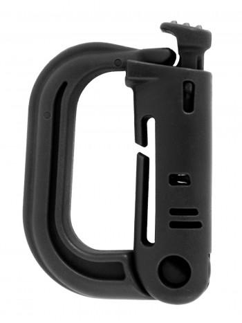 Карабин тактический  GONGTEX TACTICAL GRIM LOCK MOLLE, цвет Черный (Black)