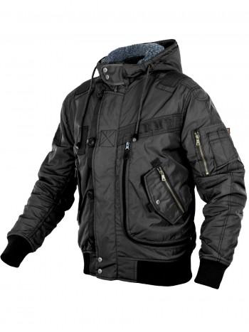 Куртка Пилот мужская (бомбер), утепленная 762 Armyfans GD076A, цвет Черный (Black)