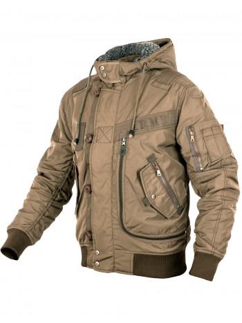 Куртка Пилот мужская (бомбер), осень-зима, 762 Armyfans GD076A, цвет Хаки (Khaki)