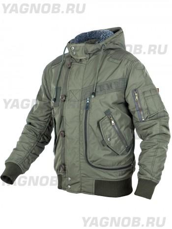 Куртка Пилот мужская (бомбер), осень-зима, 762 Armyfans GD076A, цвет Олива (Olive)