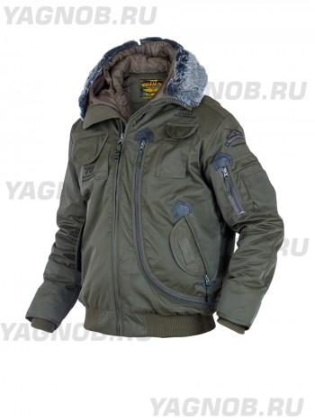 Куртка Пилот мужская (бомбер), осень-зима 762 Armyfans G037A, цвет Олива (Olive)