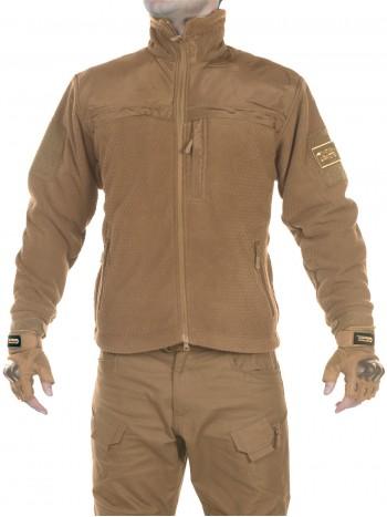Куртка флисовая мужская GONGTEX Hexagon Tactical Fleece Jacket, арт 016, цвет Койот (Coyote)