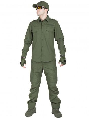 Костюм тактический летний Tactical Series, 762 Armyfans, арт 0890, цвет Олива (Olive)