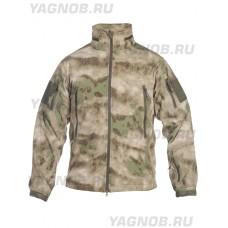 Куртка мужская тактическая софтшелл (Softshell) GONGTEX ALPHA SOFT JACKET, цвет Атакс, Мох (A-TACS)