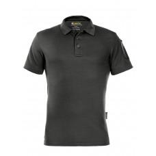 Поло мужское (футболка) Gongtex Performance Polo Shirt, цвет Черный (Black)