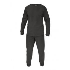 Флисовое термобелье Gongtex, Underwear Fleece Level 1, ver 2.0, цвет Черный (Black)