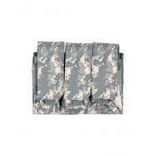 Подсумок для магазина на 3 отделения Tactica 762, арт PH-033, цвет Цифровой серый (ACUPAT)