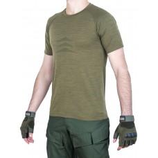 Футболка мужская тактическая Tactical PRO SHIRT, 726 GEAR, арт 9095, цвет Олива, Хаки (Olive, Khaki)
