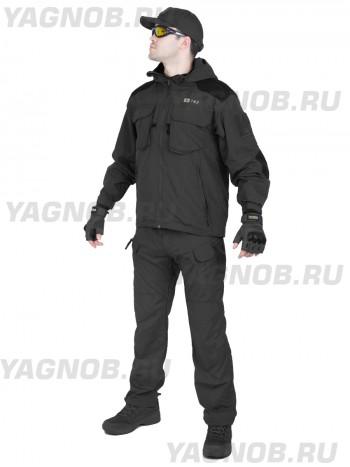 Костюм тактический демисезонный Special Forces, 726 ARMYFANS, арт A035-1205, цвет Черный (Black)