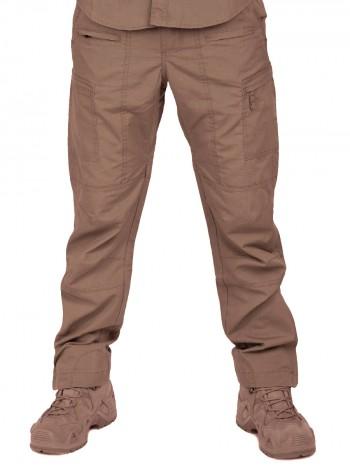 Летние тактические брюки Tactical Pro Pants, 726 ARMYFANS, арт 1210, цвет Коричевый (Brown)