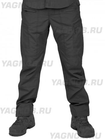 Летние тактические брюки Tactical Pro Pants, 726 ARMYFANS, арт 1210, цвет Черный (Black)