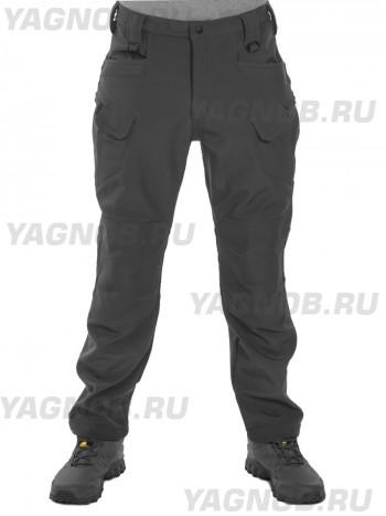 Брюки мужские, утепленные, Tactica 762, арт 1203, цвет Черный (Black)