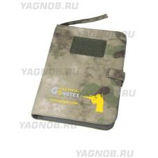 Армейский блокнот/ежедневник - GONGTEX CAMO COMBAT NOTEPAD, цвет Атакс, Мох (A-TACS)