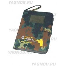 Армейский блокнот/ежедневник - GONGTEX CAMO COMBAT NOTEPAD, цвет Вудланд, (Woodland)