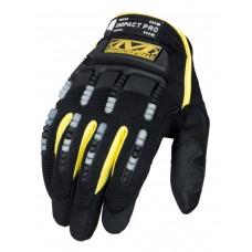 Тактические Перчатки Mechanix M-Pact-PRO, цвет черный/желтый