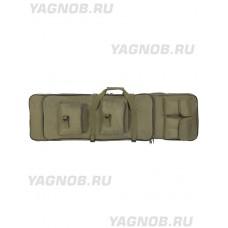 Чехол оружейный с лямками (ружейный чехол - папка), 119-140 см, арт PB-252, цвет Олива, Olive