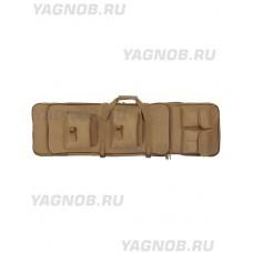 Чехол оружейный с лямками (ружейный чехол - папка), 119-140 см, арт PB-252, цвет Койот, Coyote