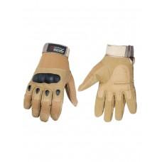 Тактические перчатки полнопалые Army Tactical Gloves, 762 Gear, арт 324, цвет Койот (Coyote)