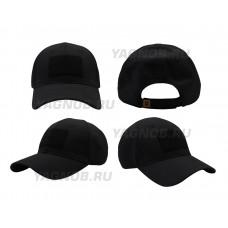 Тактическая кепка бейсболка 5.11 Tactical  Ripstop , цвет Черный (Black)