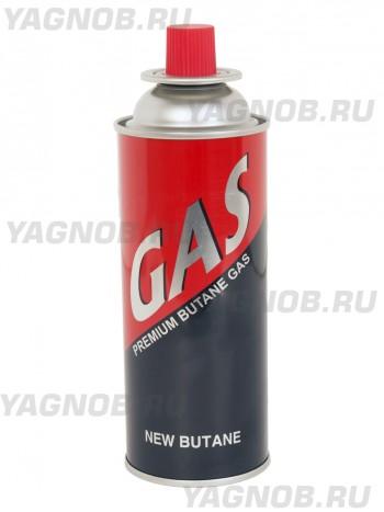 Газовый баллон для плиток и горелок, NEW BUTANE 400 мл,
