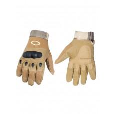 Тактические перчатки полнопалые , Factory Pilot Gloves, арт OK-324, цвет Койот (Coyote)