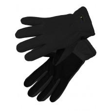 Перчатки флисовые Gongtex 3M Thinsulate Tactical Gloves для влажной и холодной погоды арт CGLV-0001, цвет черный (Black)