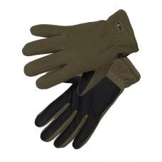 Перчатки флисовые Gongtex 3M Thinsulate Tactical Gloves для влажной и холодной погоды арт CGLV-0001, цвет олива (Olive)