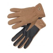Перчатки флисовые Gongtex 3M Thinsulate Tactical Gloves для влажной и холодной погоды арт CGLV-0001, цвет Койот (Coyote)