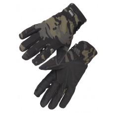 Перчатки тактические нейлоновые Gongtex 3M-Thinsulate Tactical Gloves для влажной и холодной погоды арт CGLV-0002T, цвет Черный Мультикам (Multicam Bl