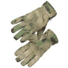 Перчатки тактические нейлоновые Gongtex 3M-Thinsulate Tactical Gloves для влажной и холодной погоды арт CGLV-0002T, цвет Атакс (A-TACS)