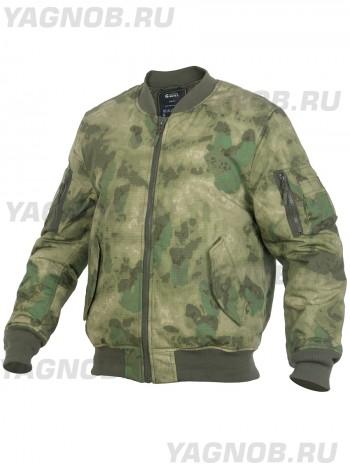 Куртка Пилот мужская утепленная (бомбер), GONGTEX Tactical Ripstop Jacket, осень-зима, цвет Атакс, Мох (A-TACS)