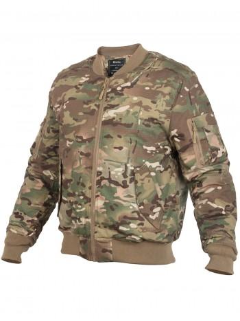 Куртка Пилот мужская утепленная (бомбер), GONGTEX Tactical Ripstop Jacket, осень-зима, цвет Мультикам (Multicam )