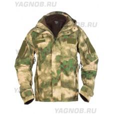 Куртка мужская тактическая 2в1, GONGTEX Alpha Hardshell Jacket, цвет Атакс, Мох (A-TACS)