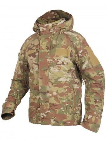 Куртка мужская тактическая 2в1, GONGTEX Alpha Hardshell Jacket, цвет Мультикам (Multicam)