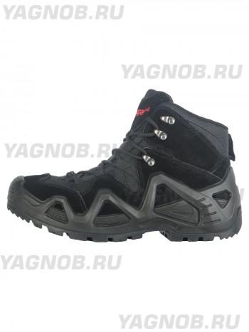 Ботинки мужские треккинговые Hanagal Brave Hiking Boots, Мембрана, Кордура, весна - осень, арт 33786, цвет Черный, Графит, (Black, Graphite)