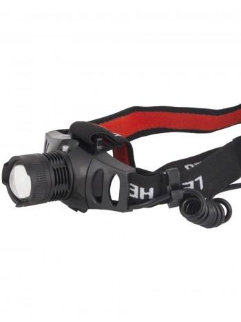 Мощный налобный светодиодный аккумуляторный фонарь HL-178 (3 режима, полный комплект)