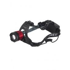 Мощный  налобный светодиодный аккумуляторный фонарь HL-K-12-1 (полный комплект)