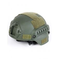 Шлем для страйкбола Ops Core FAST Tactical Helmet, ABS-пластик, цвет Олива (Olive)