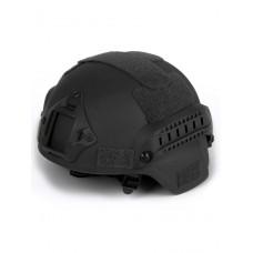 Шлем для страйкбола Ops Core FAST Tactical Helmet, ABS-пластик, цвет Черный (Black)